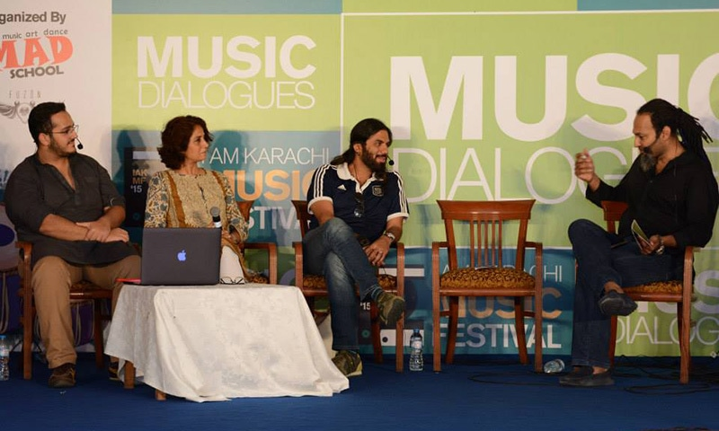 A session on form and structure of music discussed the significance of visuals — Photo courtesy IAMKF Facebook page