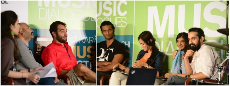 Artists shared their musical role models in the talk on appreciation of western music — Photo courtesy IAKMF Facebook page