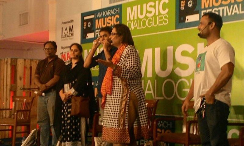 Tina Sani's session was the most interactive — Photo courtesy IAKMF Facebook page