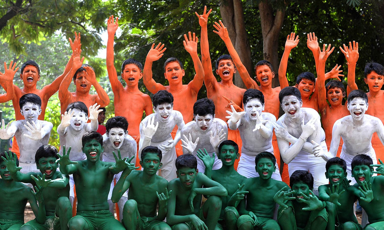 Flag Festival India: In Pictures: India's 68th Birthday Celebrations