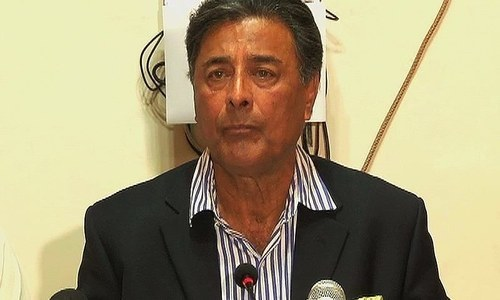 File photo of Punjab home minister Shuja Khanzada