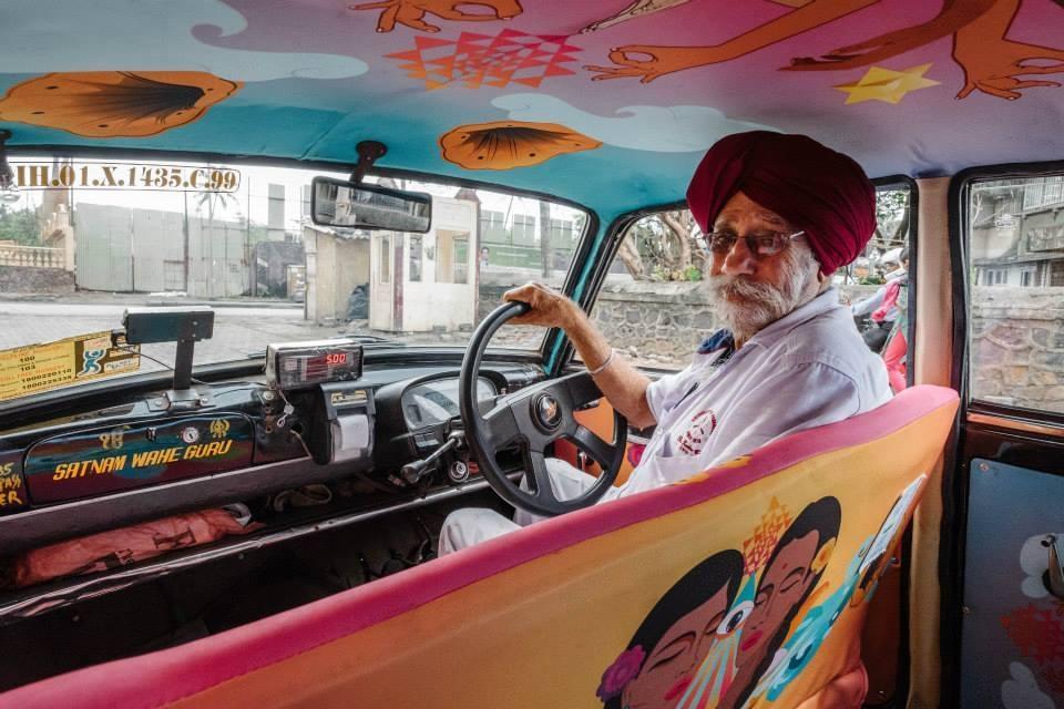 """""""Samya beta, aap ne jo hamare liye design banaya uske liye thank you, very very much. Humara taxi bahut chamak gaya. Aapko humne dekha toh nahi hai lekin kabhi milne zaroor aana"""" - Satmant Singh"""