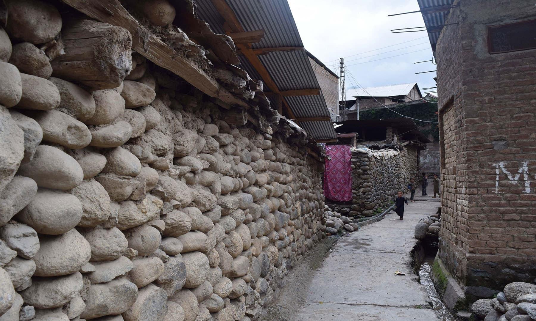 A corner of Gwalerai village.