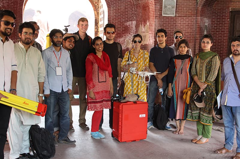 Group photo of the project team.