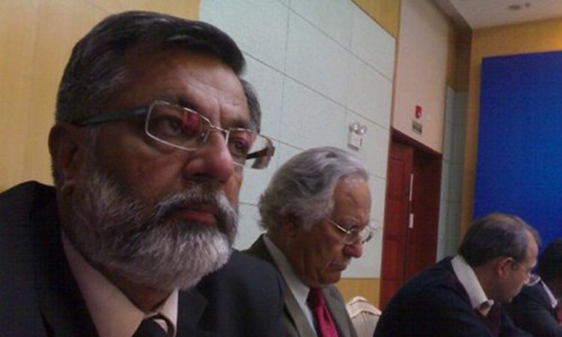MQM member of the National Assembly Abdul Rashid Godil. – Photo courtesy Twitter