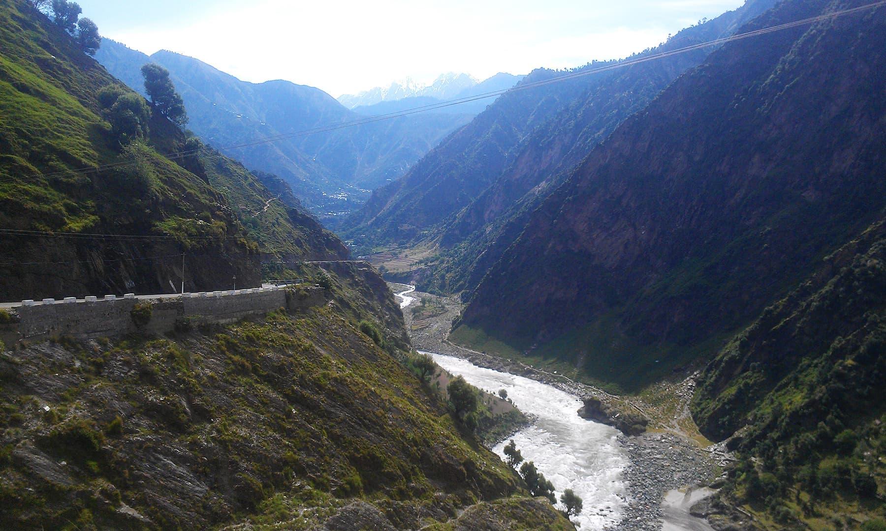 Leaving Neelum valley.