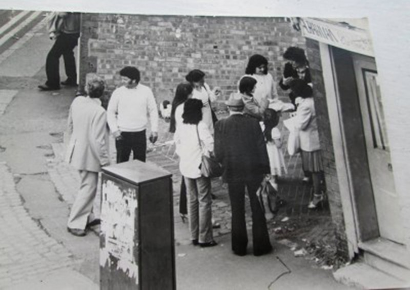 Pakistanis in the UK in the 1960s: They were considered to be 'enlightened' back home. —Photo courtesy of Saltley Stories Birmingham