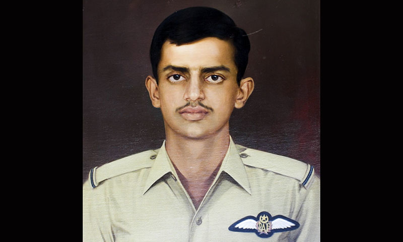 Rashid, who was born on February 17 1951, remains the youngest officer to receive the Nishan-e-Haider award and is the only recipient of the highest honour of gallantry from Pakistan Air Force (PAF).  — via Pak Army Museum website.