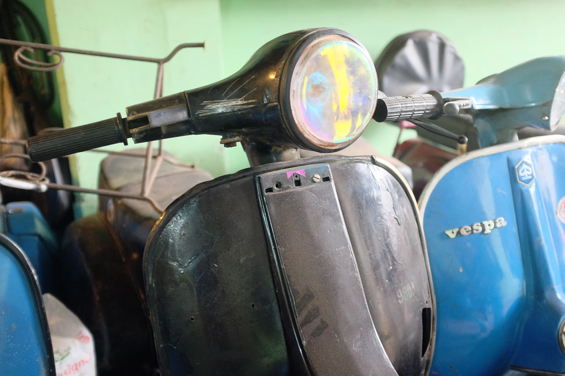 Vroom! Into the graveyard of Vespas we rode    - Multimedia