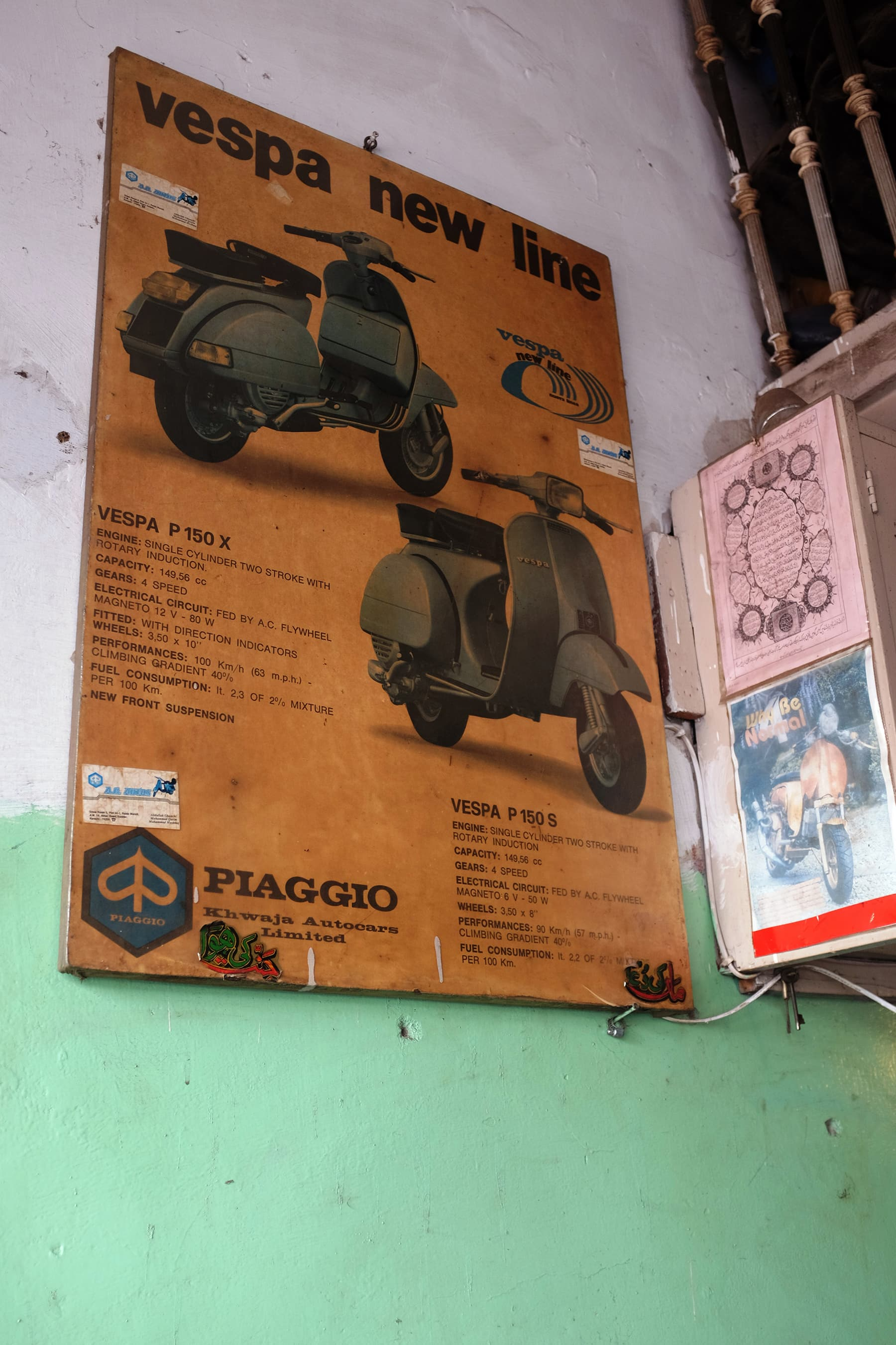 An old Piaggio poster.