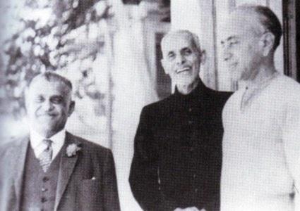 Mohammad Ayub Khuhro, Shaikh Abdul Majeed Sindhi and G. M. Syed.