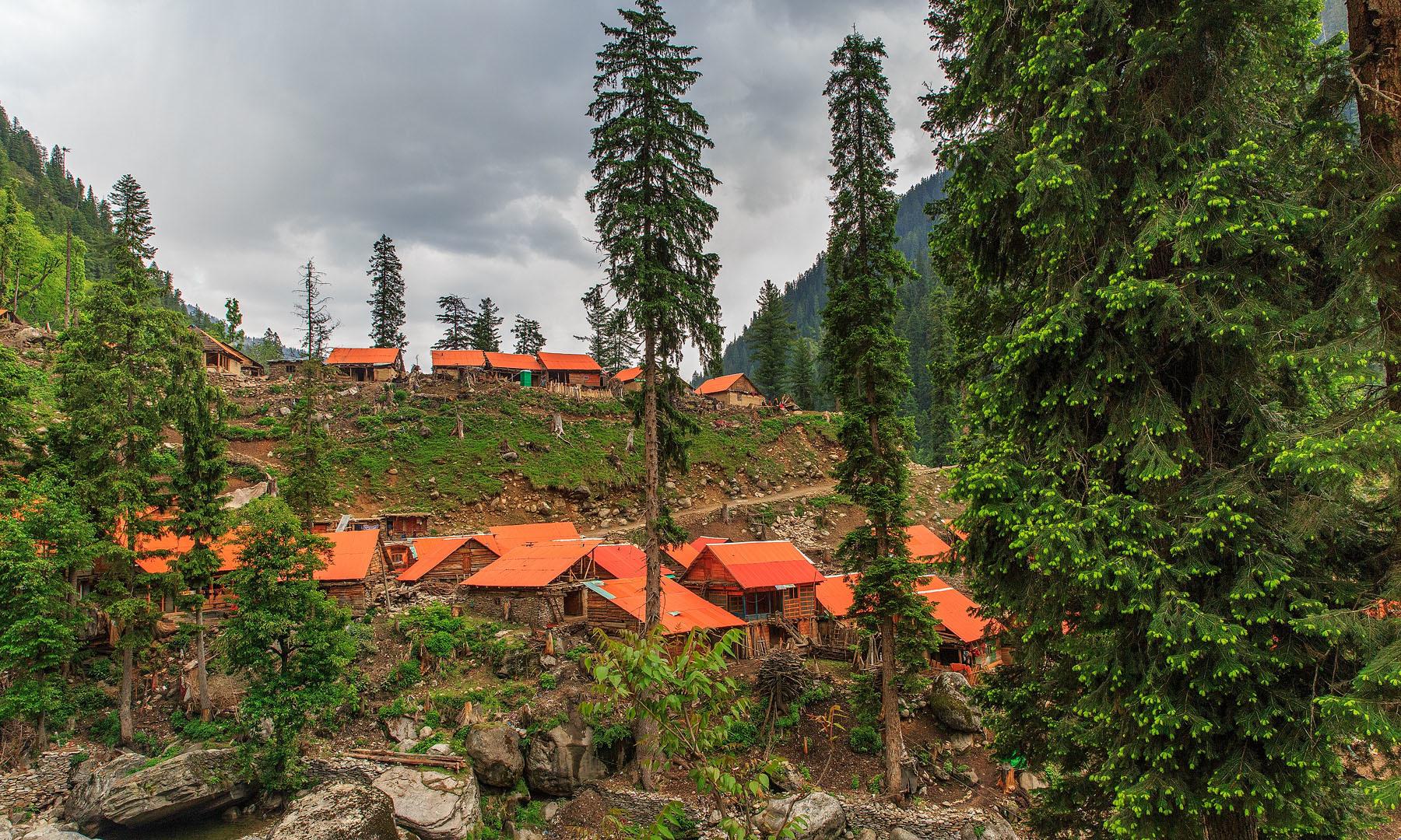 Jam Garh village.