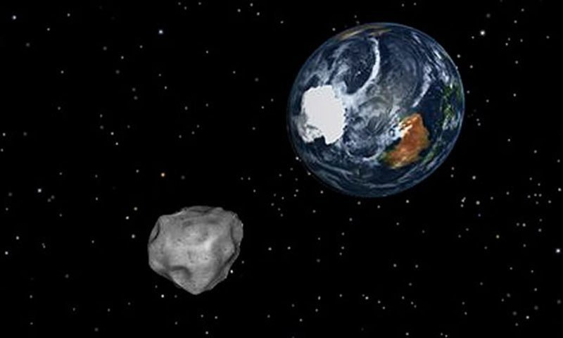 Nasa explains that all hazardous asteroids have a less than .01 per cent chance of impacting Earth in the next century.—AP/File