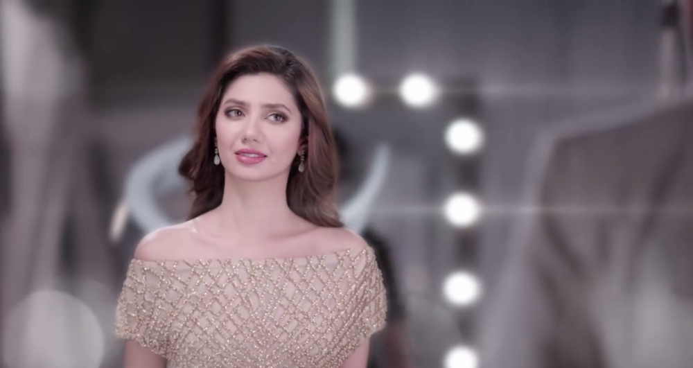 Mahira glows in a gold gown