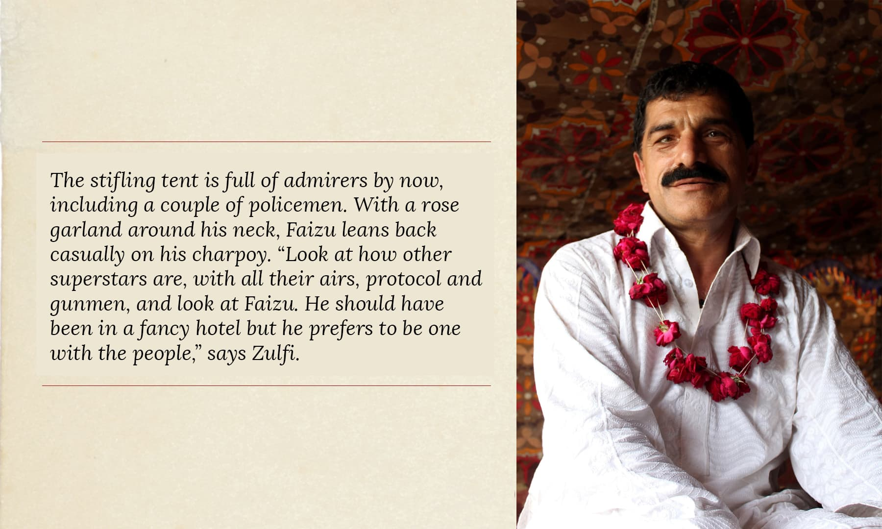 Faizu Kukkarbaaz, the Seraiki comedian | Danyal Adam Khan
