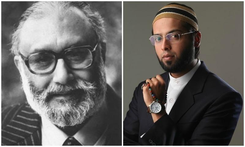 Dr Abdus Salam (L), Fahad Mustafa (R)