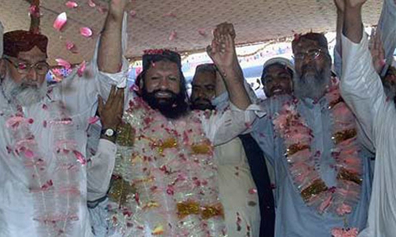 Observers note that the Ludhianvi's ASWJ showed no reaction even did not condemn the killing of Ishaq.—AP/File