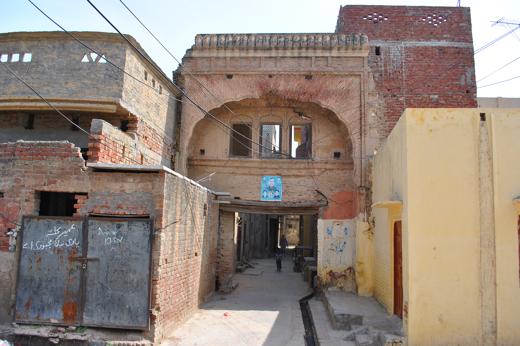 Etched on walls the unknown glory of an old punjab town for Architecture house design in punjab