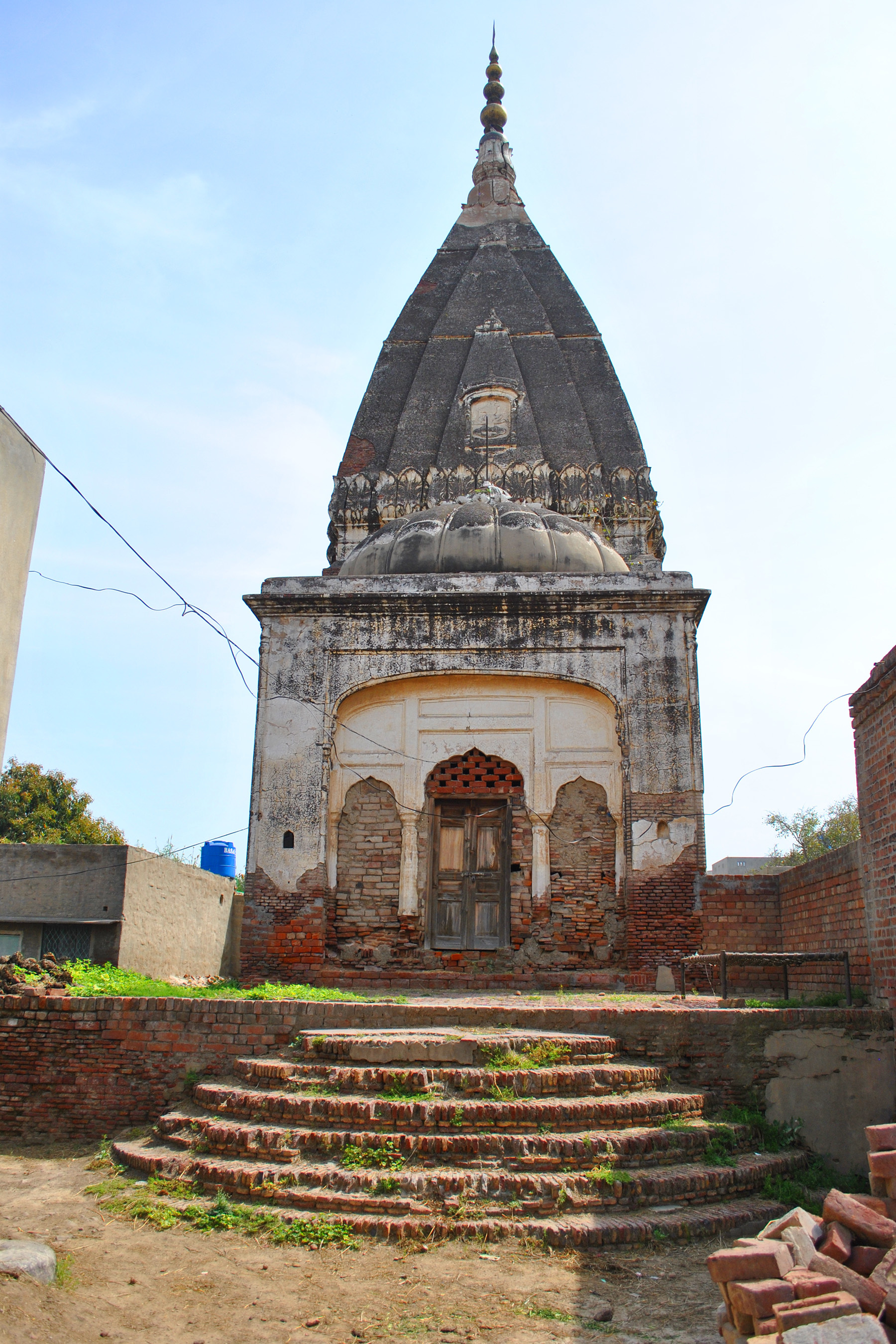 Shiva Temple in all its eroded glory.