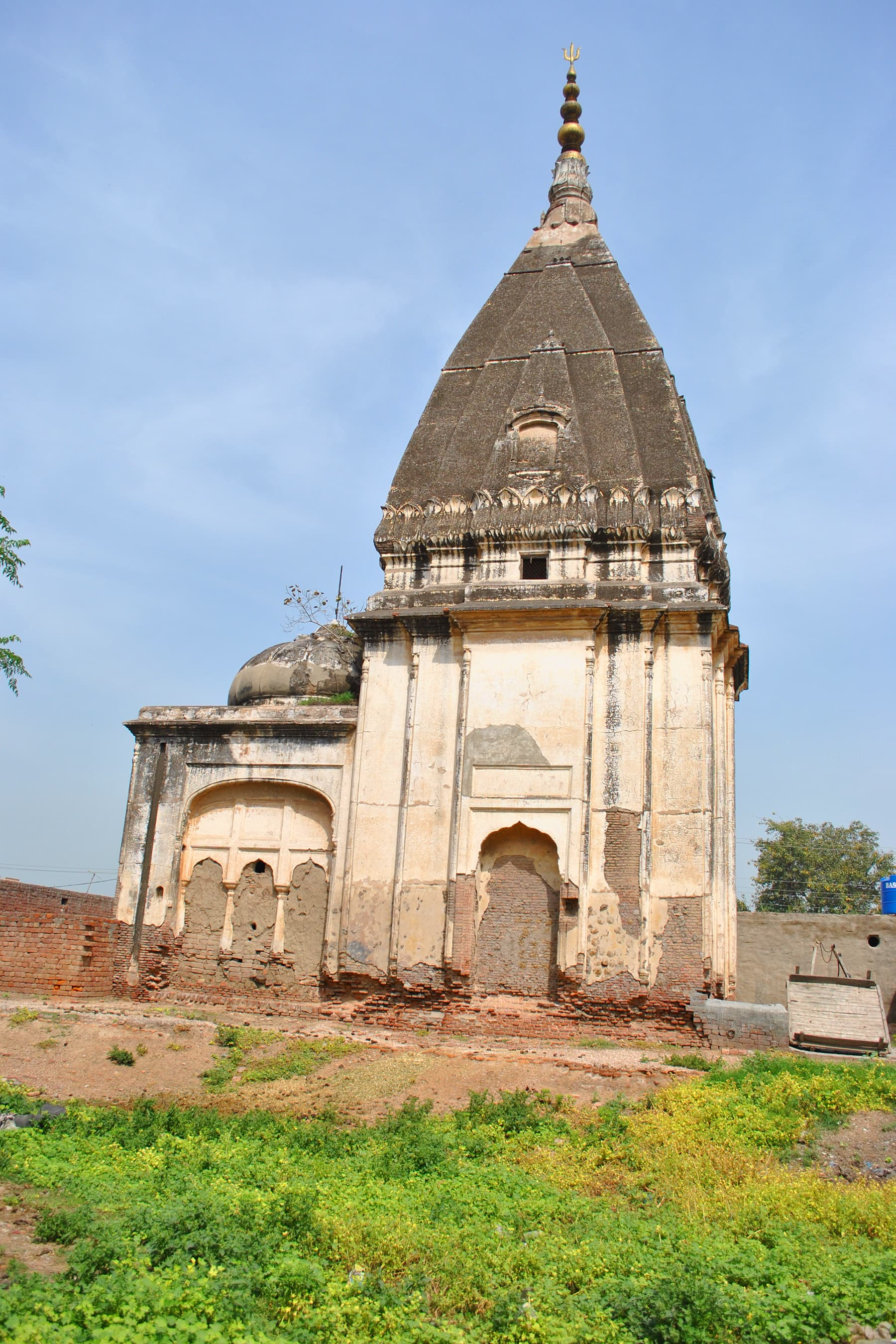 Shiva Temple — there are at least three such main temples, although we can't trace the complete history of these temples, the structure does not seem very old.