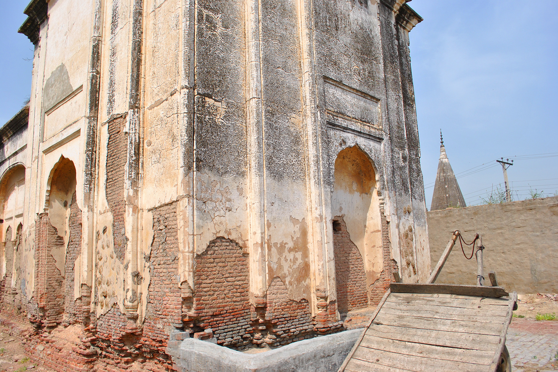 There's no hope for the restoration of these sites which are sacred to some people.