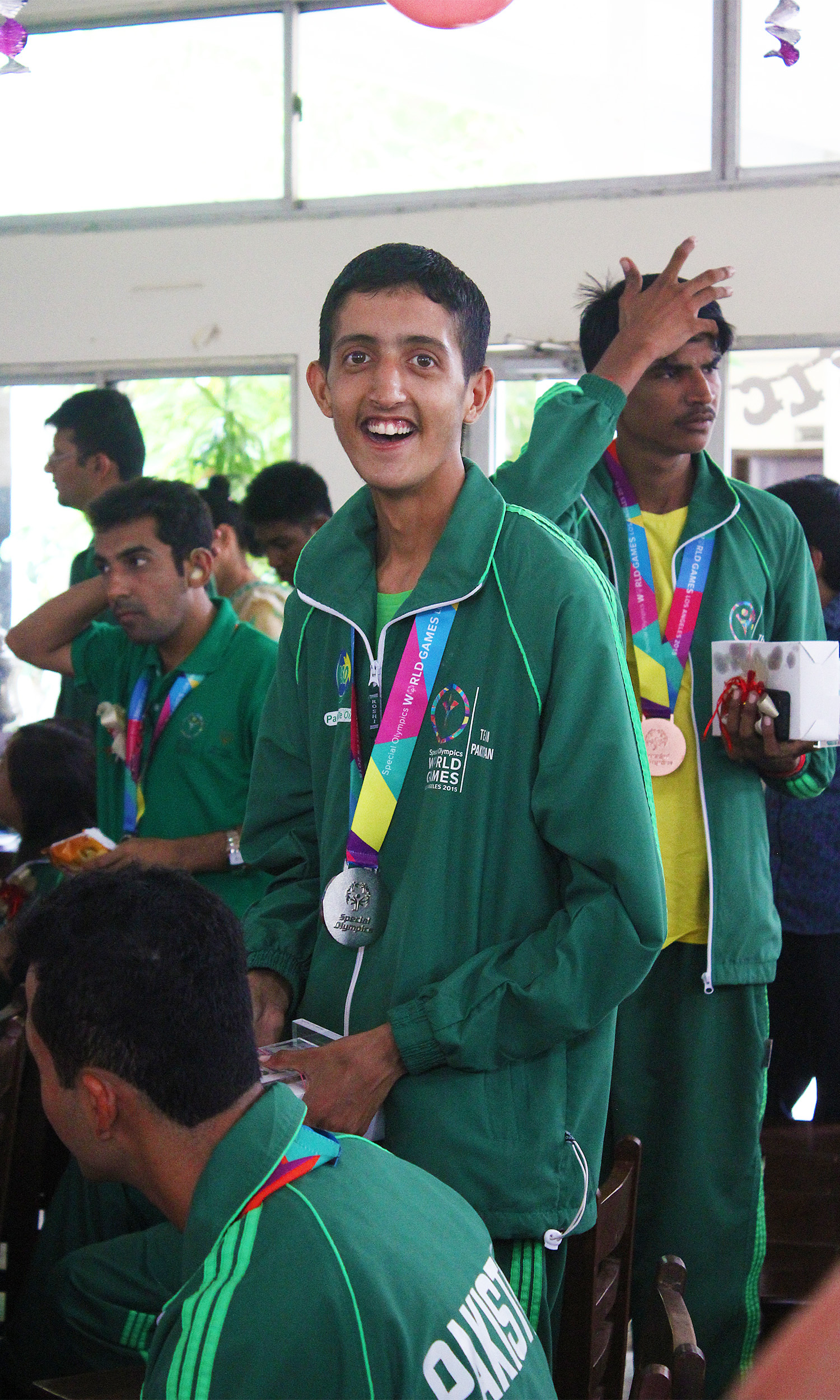 Ahsan Anwer won gold in tennis doubles and a bronze in singles.