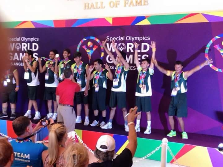 The winning team at the LA games 2015. — Courtesy Photo