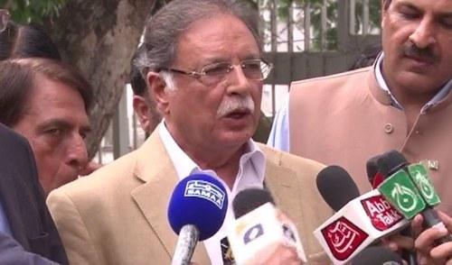 وفاقی وزیر اطلاعات پرویز رشید —ڈان نیوز اسکرین گریب۔