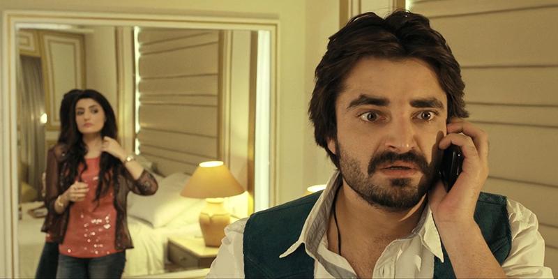 Hamza plays a henpecked husband in Jawani Phir Nahi Aani