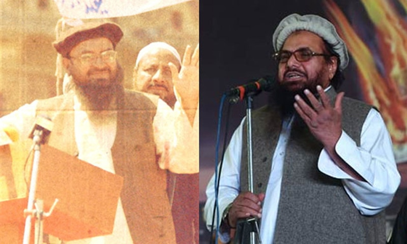 (Left) Shahnawaz Pradhan in a still from Phantom. (Right) File photo of Hafiz Saeed – Photograph courtesy AFP