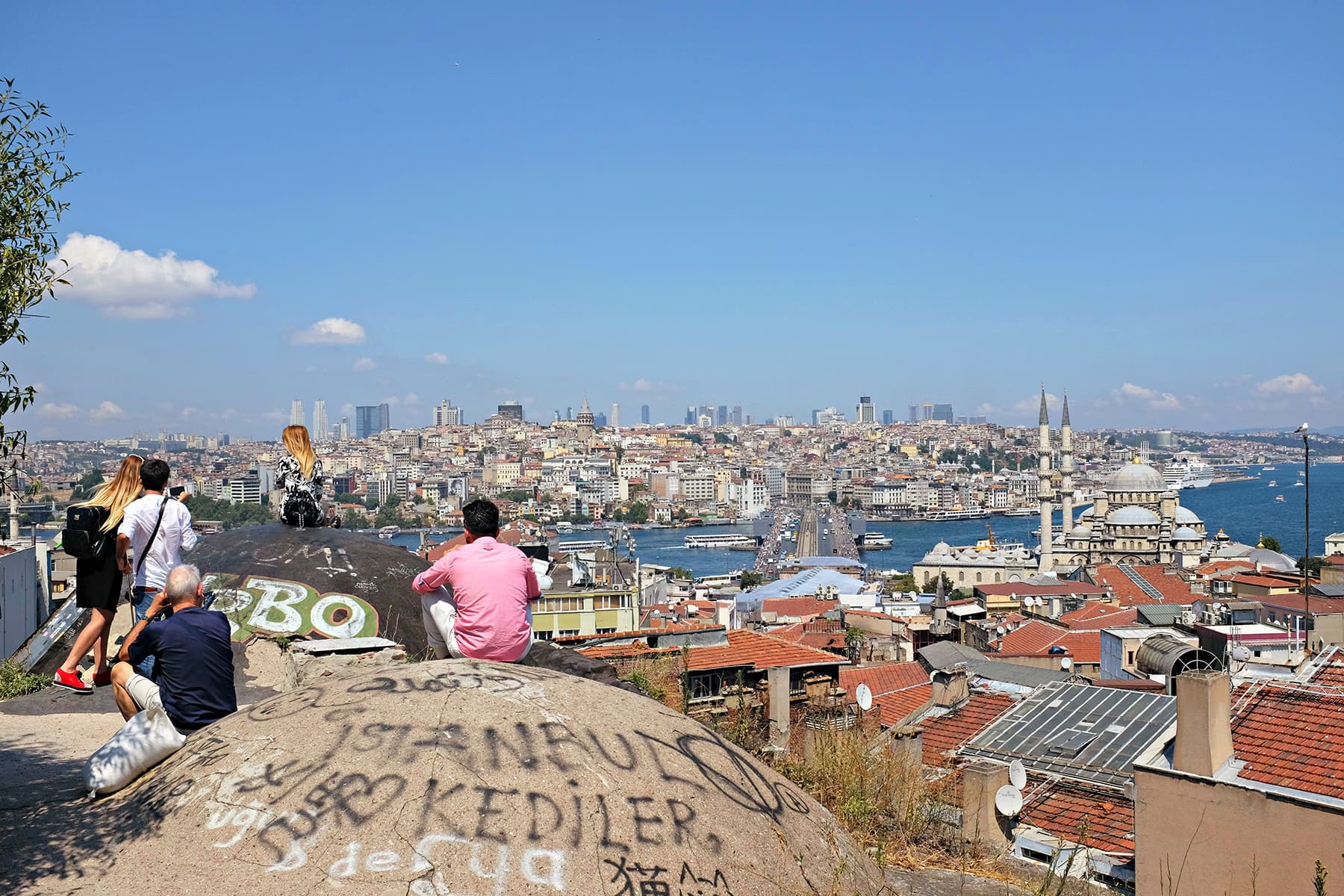 Another view from the rooftop of Grand Bazaar workshop.