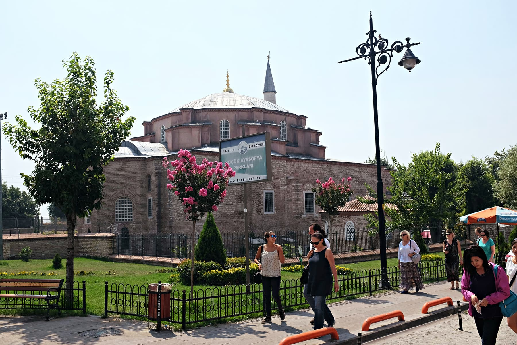 A view of Little Hagia Sophia.