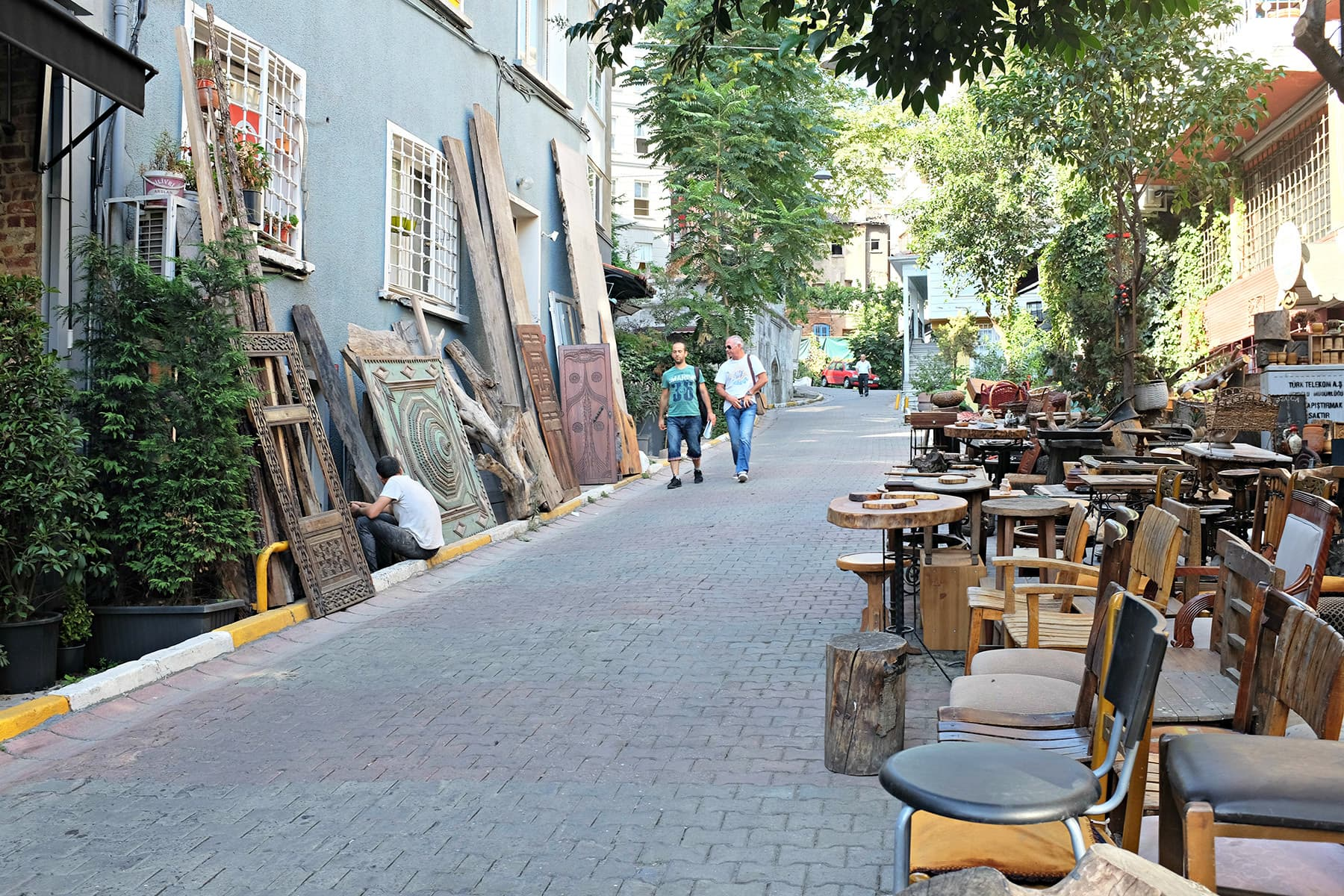 The streets around Istiklal can prove to be a treasure trove.