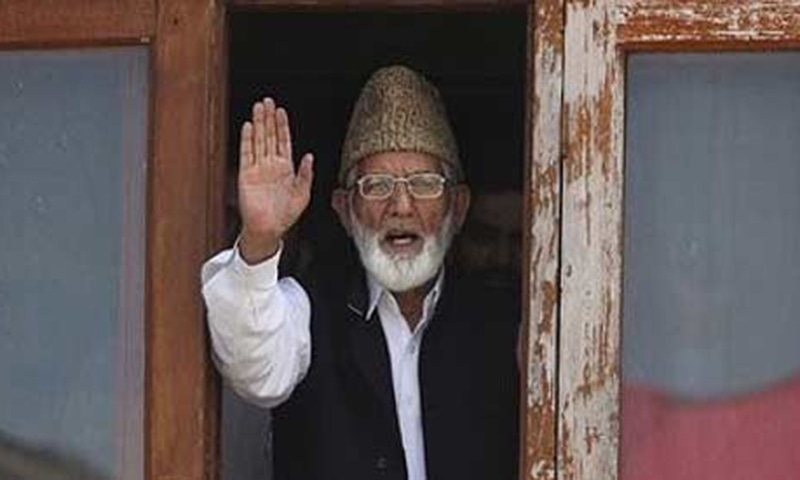 Geelani was slated to have a one-to-one conversation with Pakistan's NSA Sartaj Aziz if the latter came for the talks.—AP/File