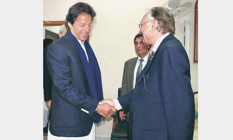 Imran said he was delighted to know that the ECP had started work on all the findings of the poll commission.—APP/File