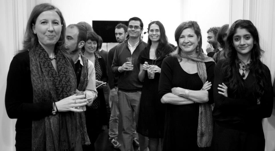 Laraib at a company event at Glassworks Barcelona, where she last worked — Photograph courtesy Laraib Atta