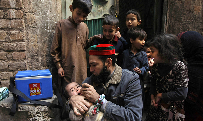 Polio cases in 2015 declined 82pc over last year, PM told