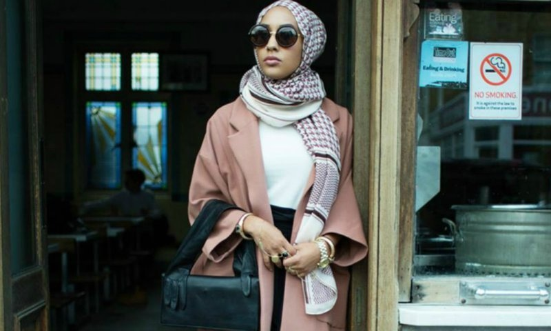 H&M model rocks a hijab in the clothing giant's new campaign