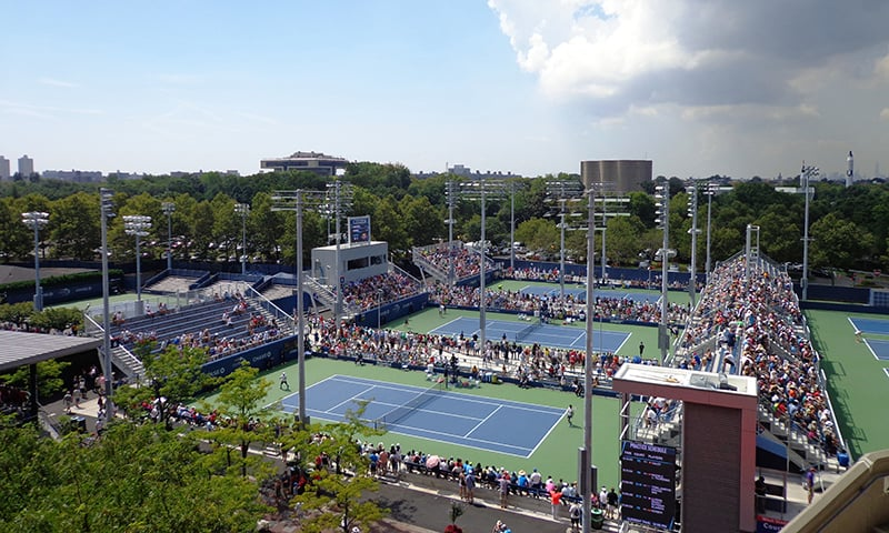 The US Open is by far the grandest stage in tennis. —Photo by author