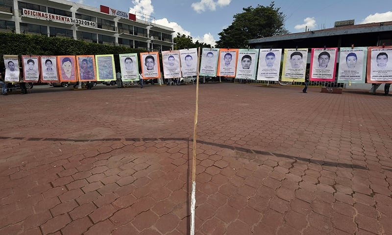 Drug buses: Motive in Mexico students' disappearance?