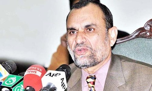 The resolution has been submitted by Azam Khan Swati and it is on the agenda for the Monday's sitting,—APP/File