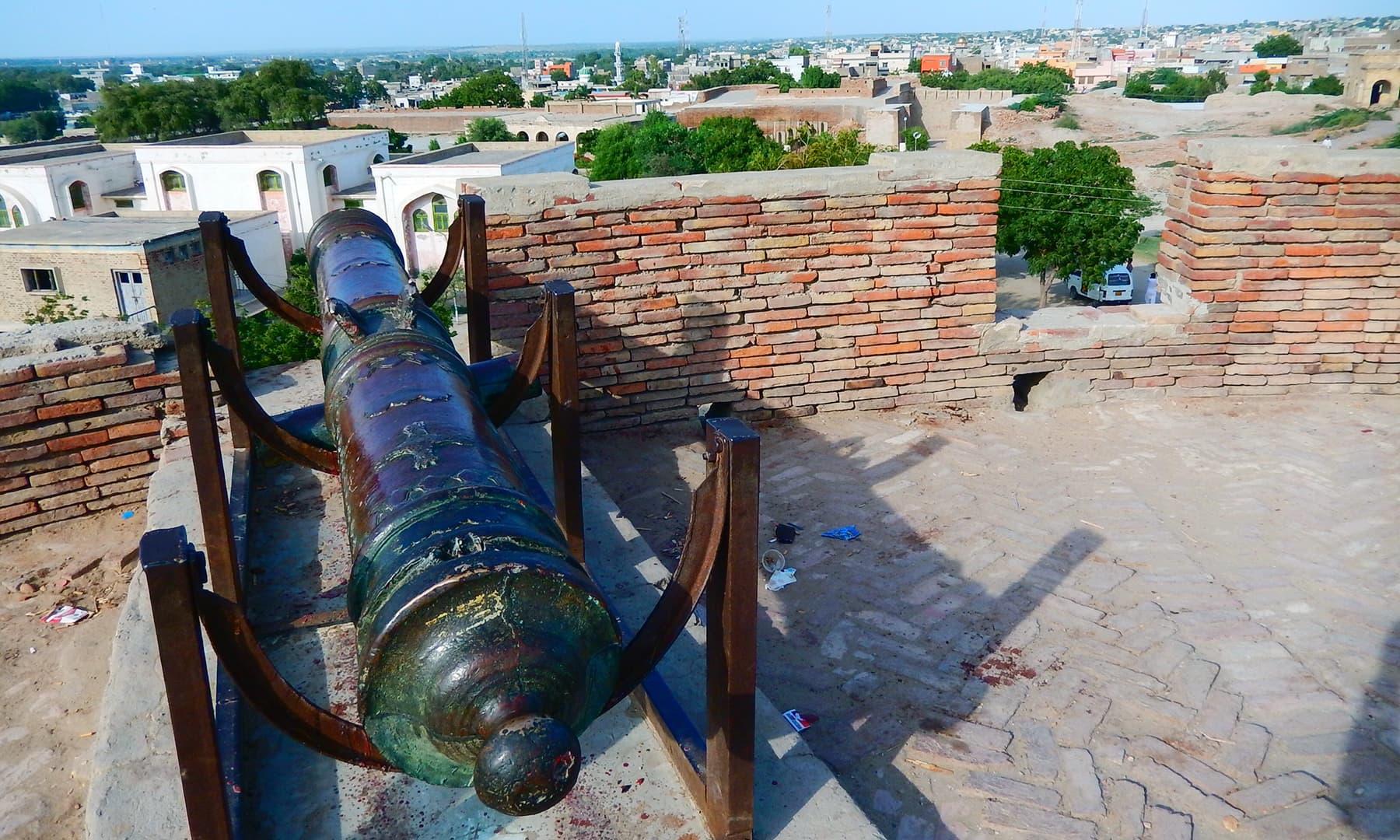 عمر کوٹ کا قلعہ.