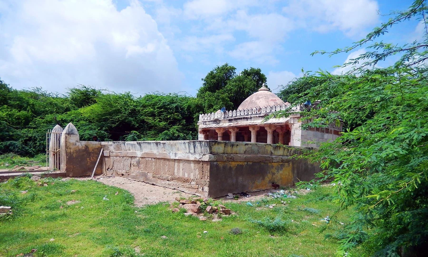 مسجد محمد شاہ بیگڑہ، بھوڈیسر.