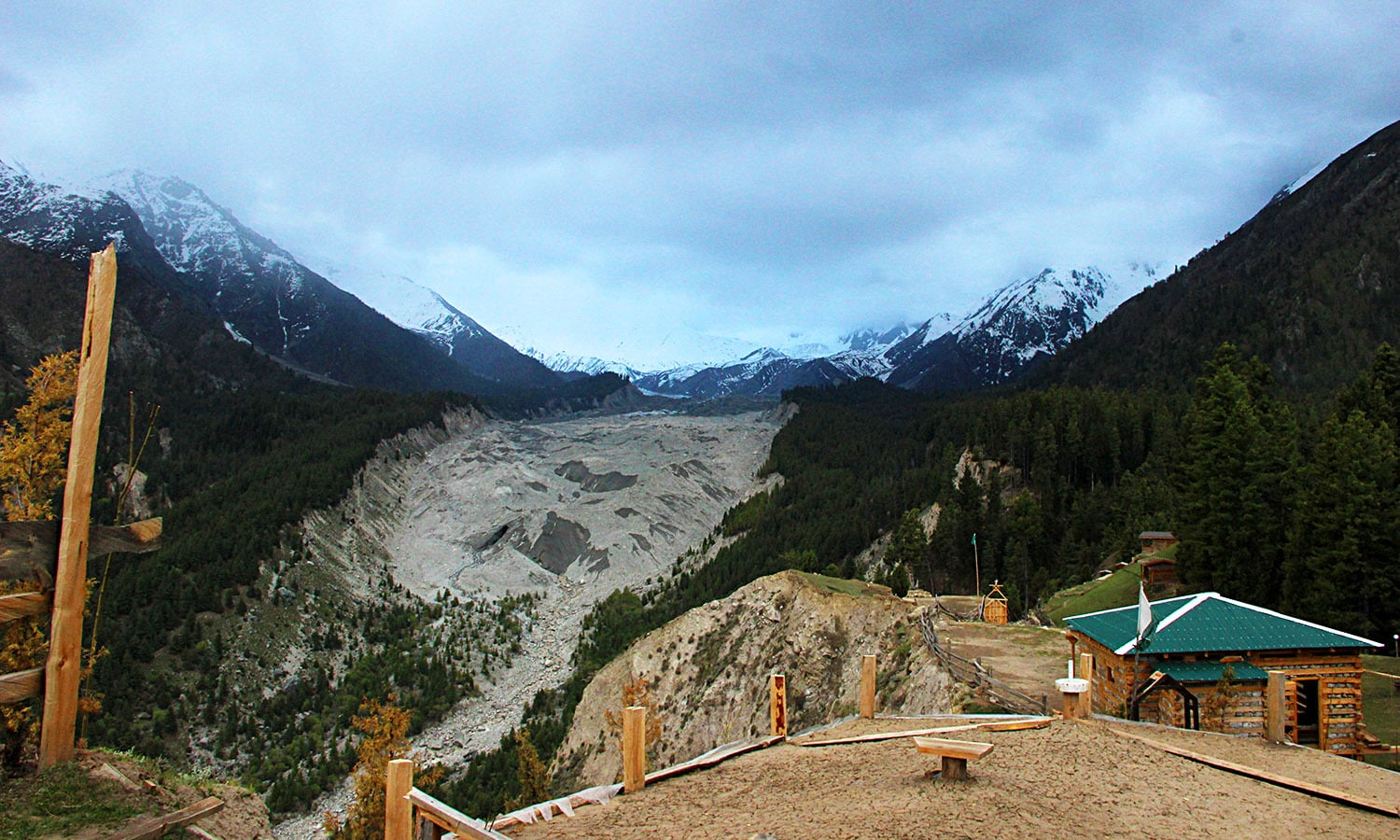 View from Fairy Meadows.