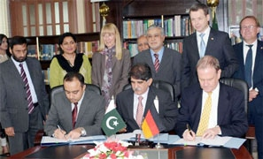 The Germans will also give a grant of 10m euros for the rehabilitation of the TDPs in Fata.—Courtesy: Radio Pakistan