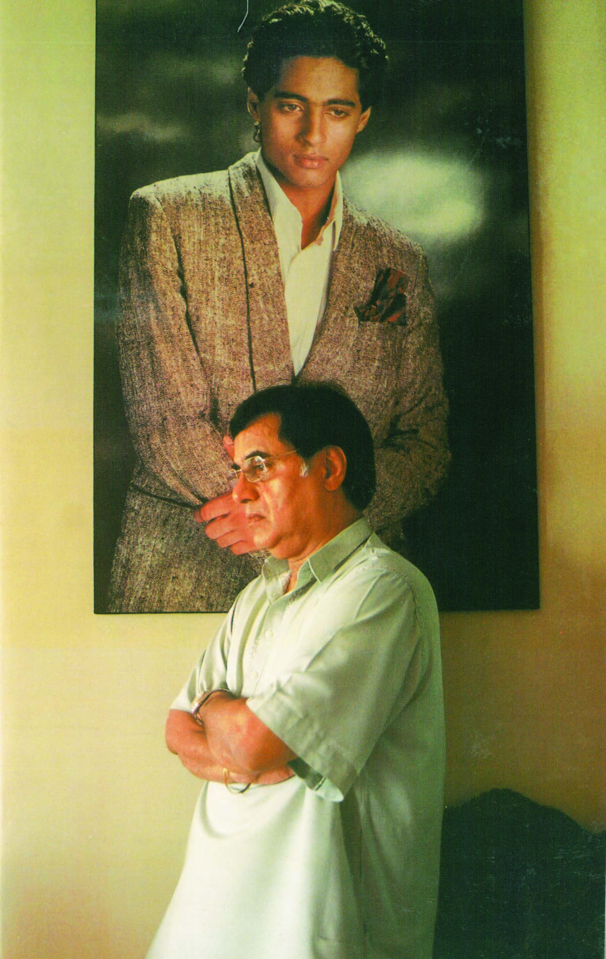 Jagjit never got over the death of his son — Photograph courtesy HarperCollins Publishers India