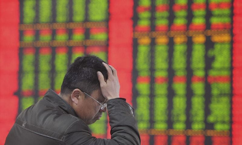 Economic turbulence in China