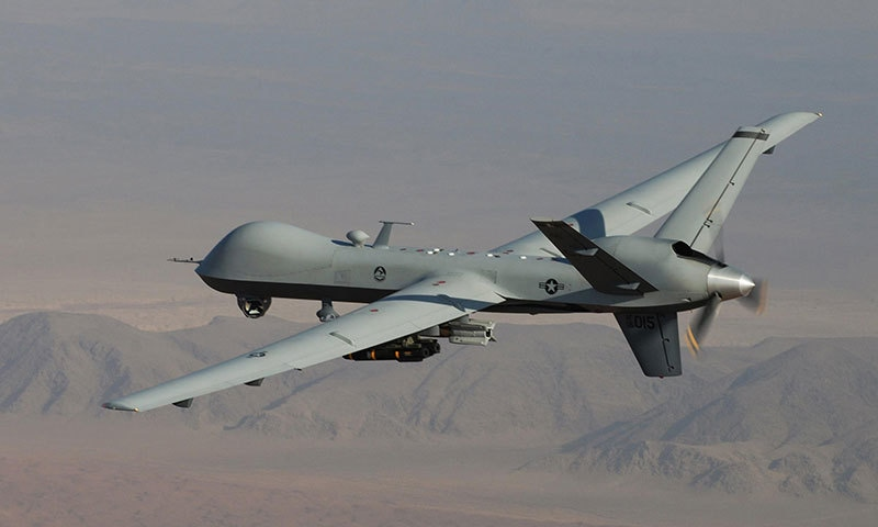 A terrorist hideout was also destroyed in the drone strike ─AP/File