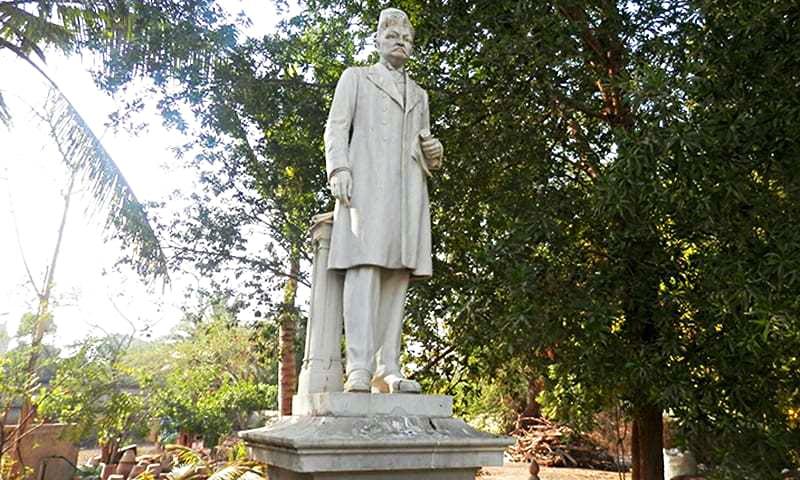 Statue of Edulji Dinshaw.