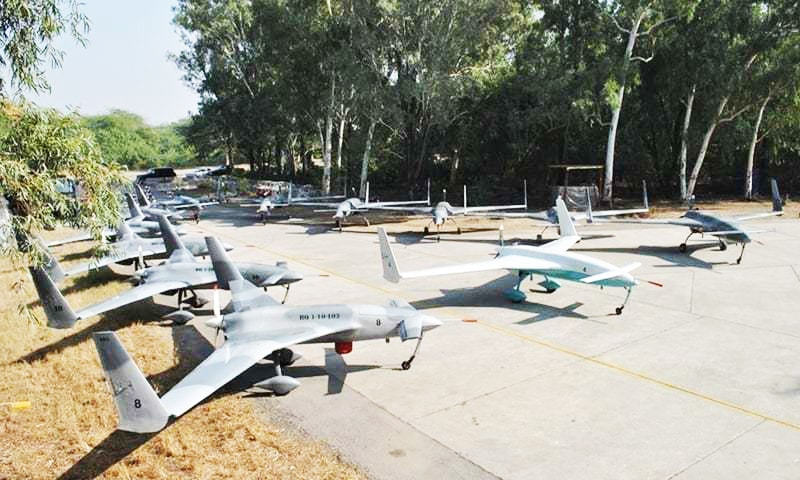 'The drone was on a routine flight when it encountered a technical fault and crashed.'—ISPR/File
